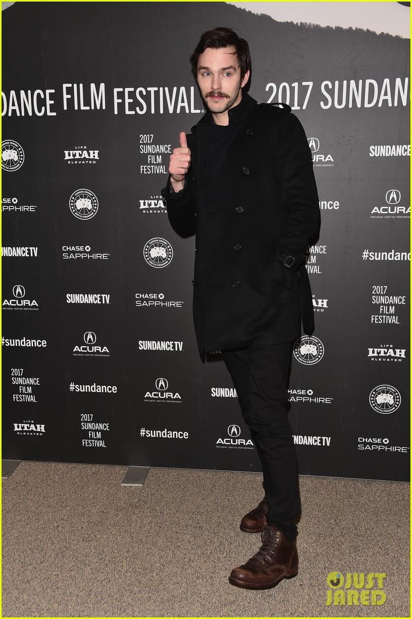 Nicholas Hoult & Zoey Deutch Debut 'Rebel in the Rye' at Sundance 2017!
