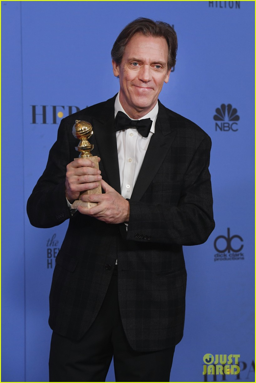 billy bob thornton and hugh laurie win big for tv performances at golden globes 15