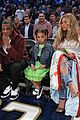 beyonce jay z bring blue ivy to hba all star game 02