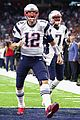 tom brady hits the super bowl field before the big game 01