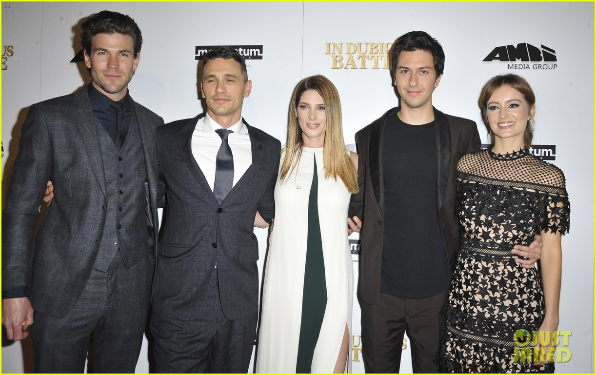 james franco ashley greene austin stowell bring in dubious battle to hollywood 043861013