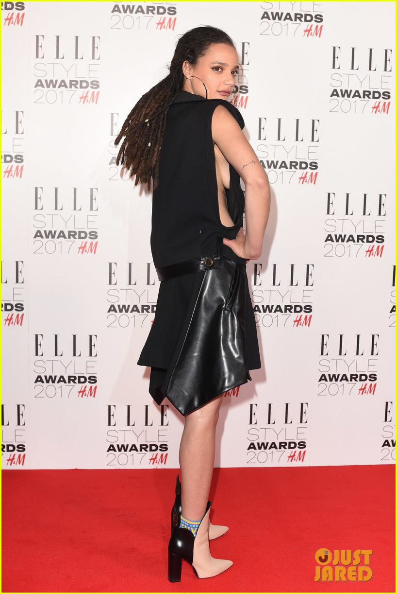thandie newton riz ahmed step out for elle style awards 2017 thandie newton riz ahmed step out for elle style awards 2017 photo 3859349 anya taylor joy eleanor tomlinson ellie bamber riz ahmed sasha lane