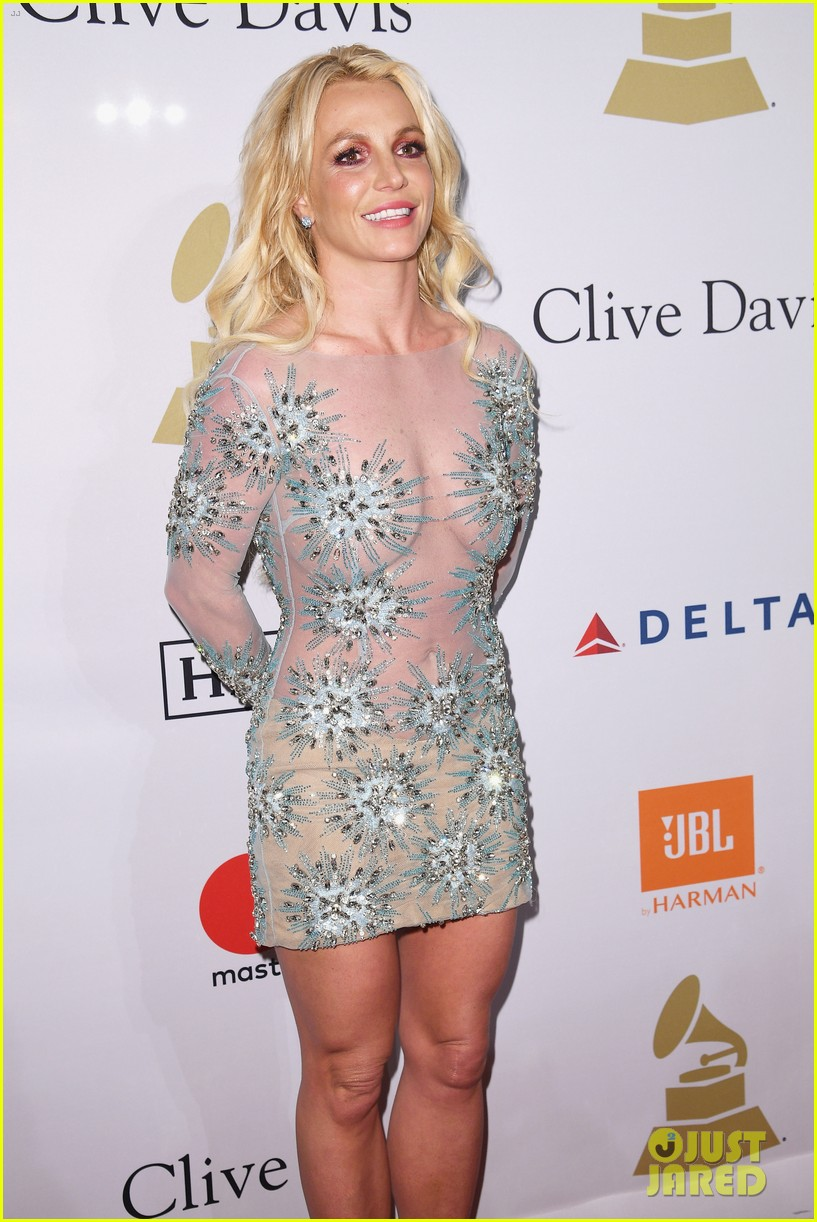 clive davis sparkles in sheer gown at clive davis pre grammy party 063857623