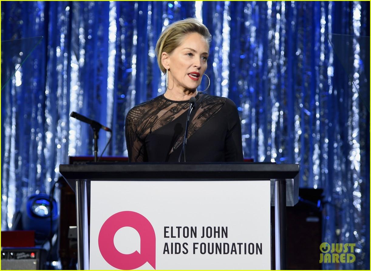 John Mayer Austin 2017 >> Sharon Stone, Tony Goldwyn & Bellamy Young Live It Up At Elton John's Oscars Party!: Photo ...
