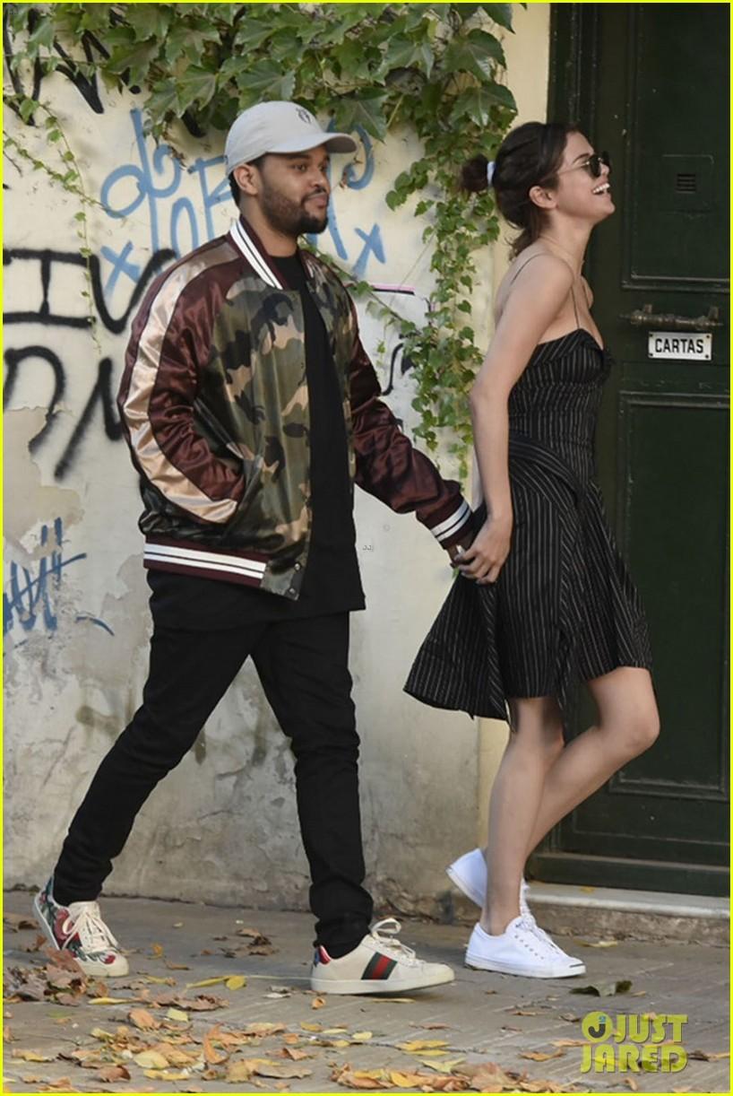 Selena Gomez Amp The Weeknd En Argentine Justin Bieber