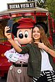 jessica alba cash warren and their daughters spend the day with mickey mouse 02