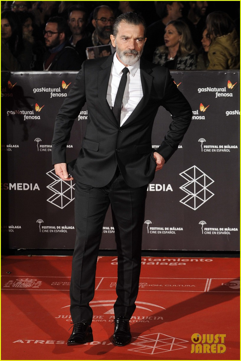 Antonio Banderas Looks Healthy at Malaga Film Festival 2017 Antonio Banderas