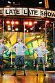 james corden debuts donald the musical with ben platt abigail spencer 01