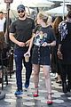 chace crawford rebecca rittenhouse grab a casual lunch 03