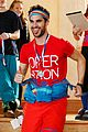darren criss goes skiing for operation smile 01
