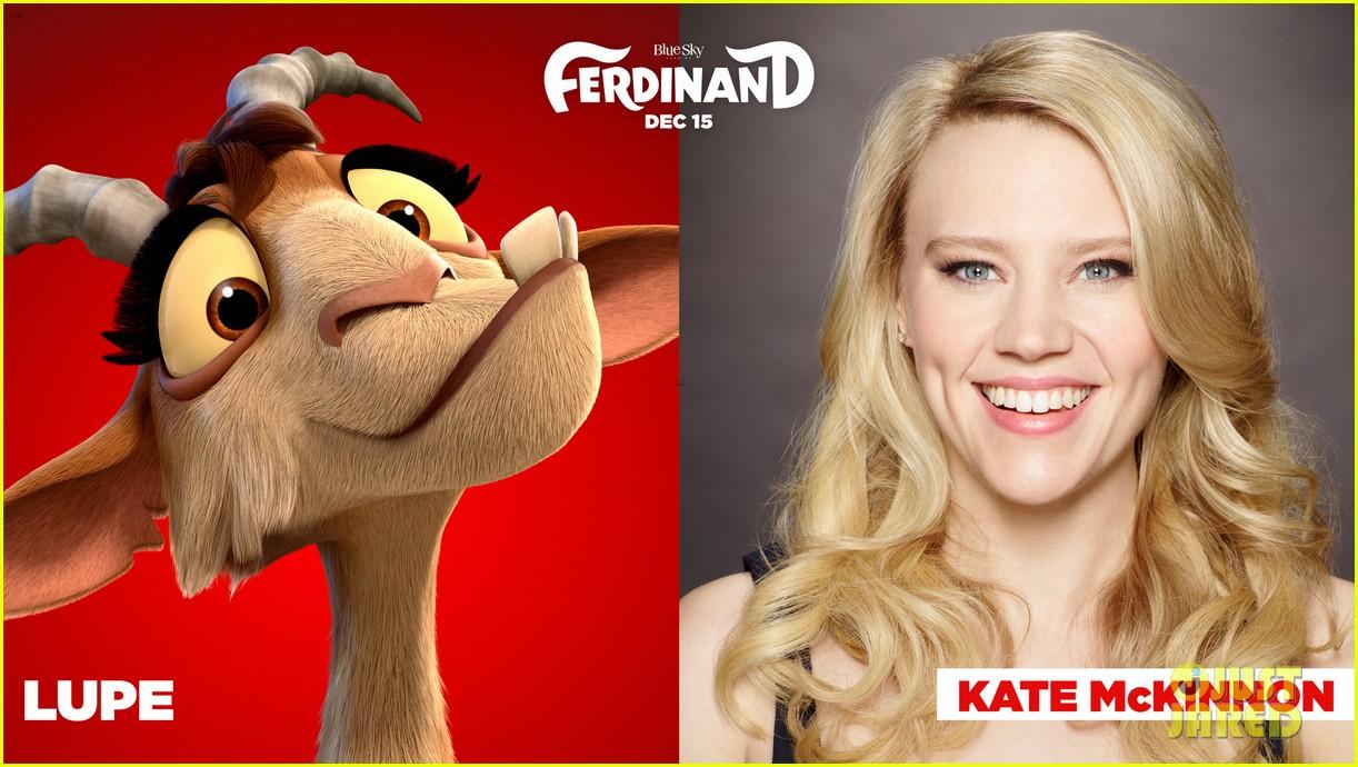 John Cena & Kate McKinnon's Animated Flick 'Ferdinand' Gets First ...
