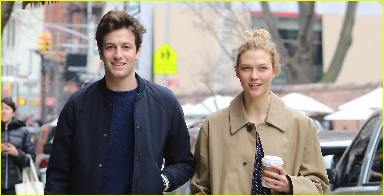 Full Sized Photo of karlie kloss joshua kushner sunday out ...