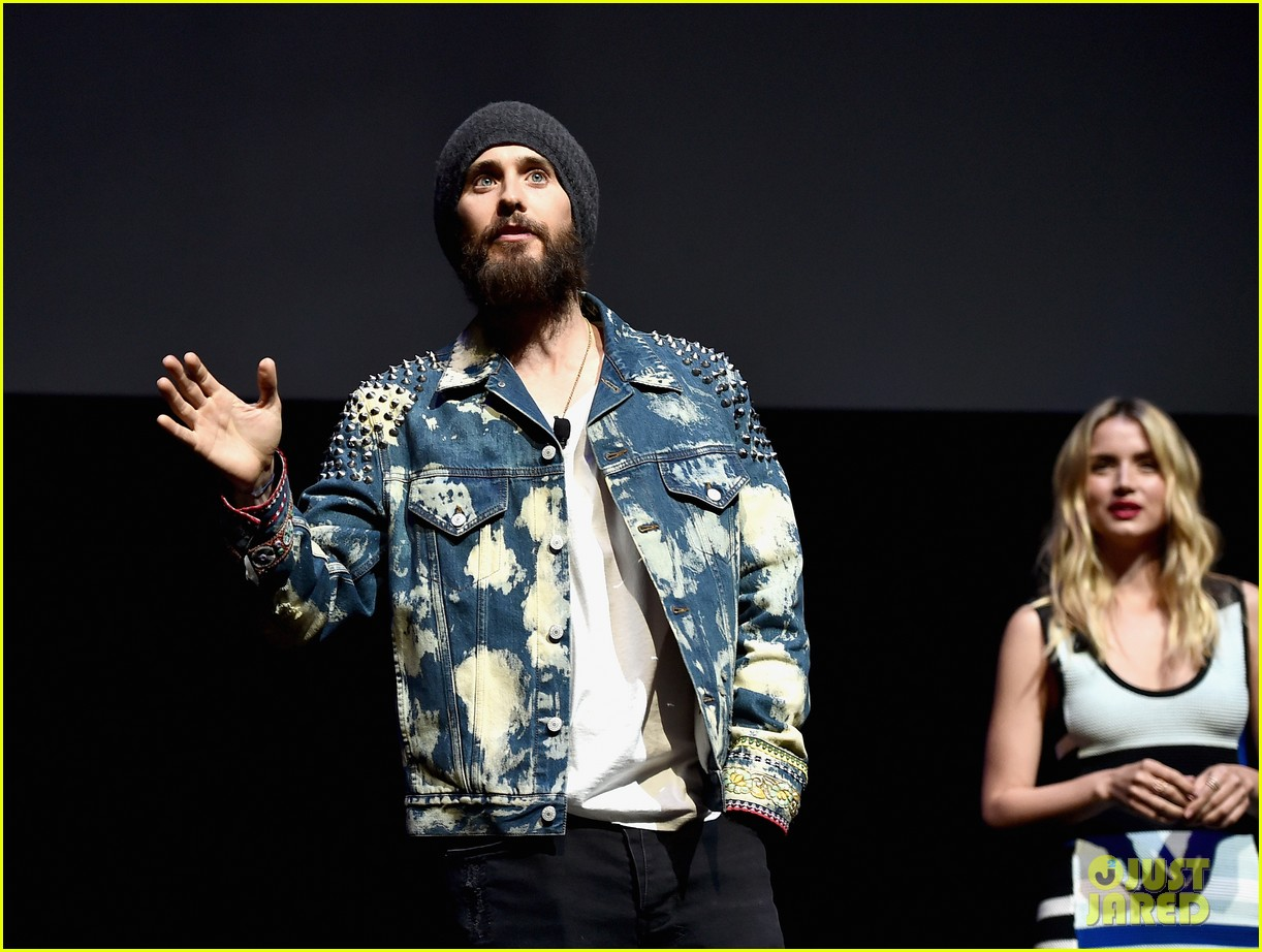 jared leto ana de armas attend cinemacon to promote bladerunner 053879983