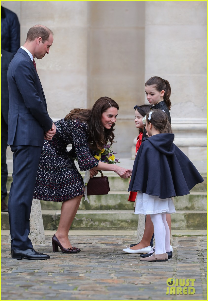 kate middleton prince william join rugby team eiffel tower 313875739