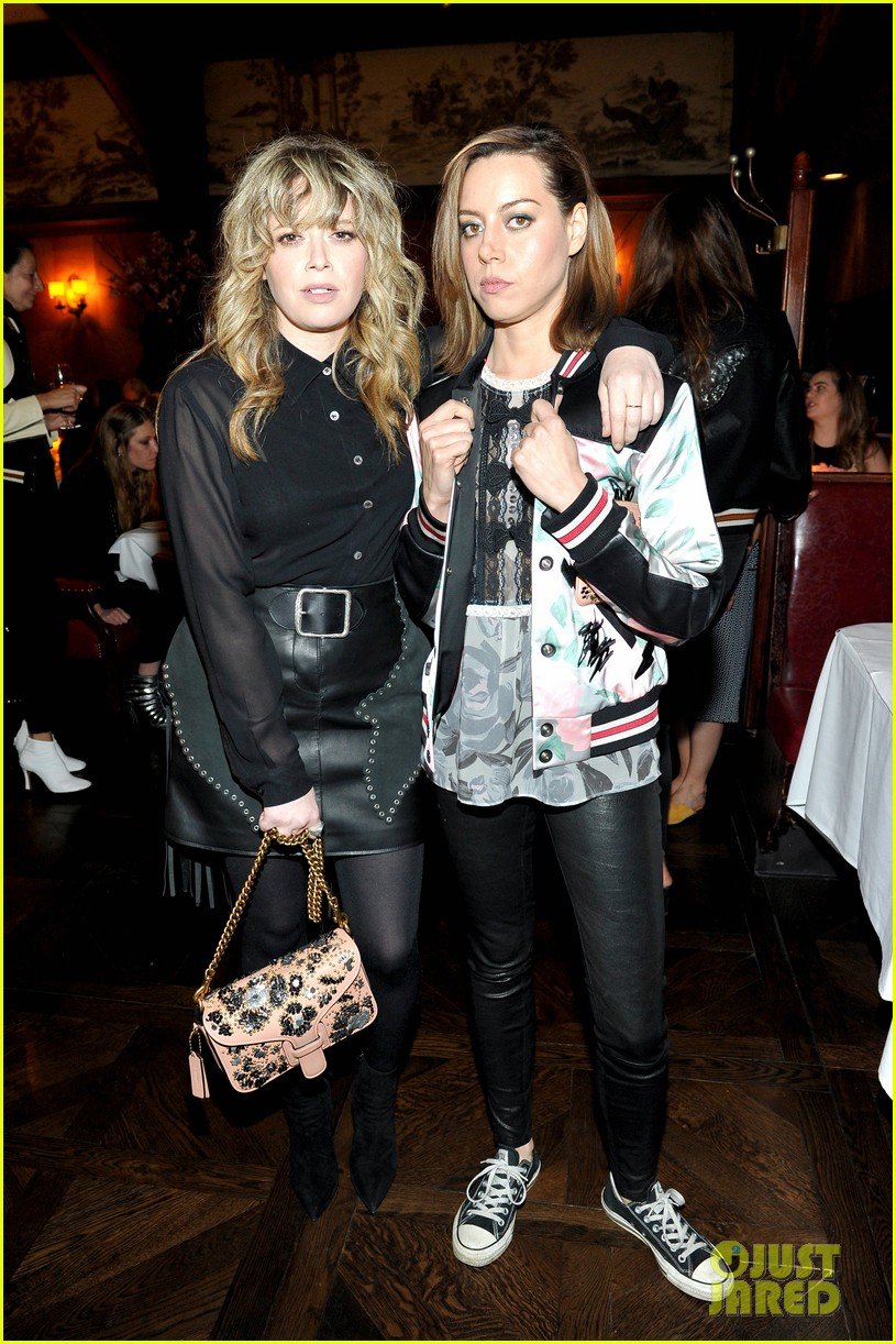 chloe moretz bella heathcote and sasha lane bring flower power to coach and rodarte 053880641