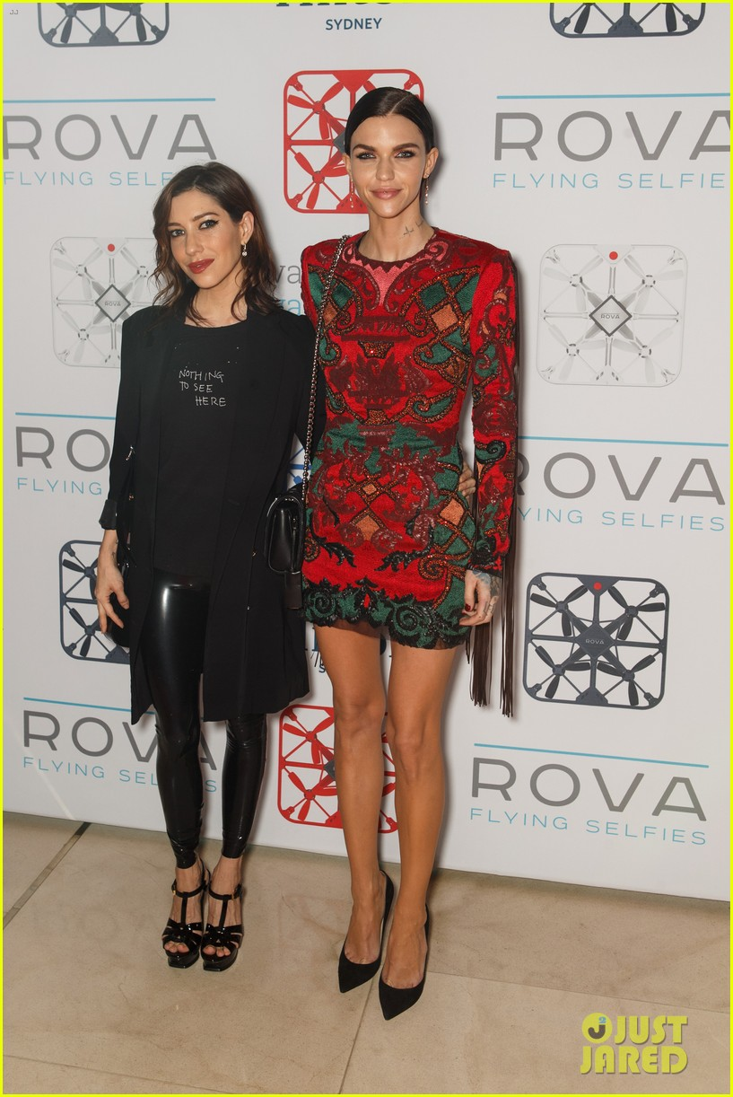 ruby rose girlfriend jess origliasso couple up rova sydney launch party 04