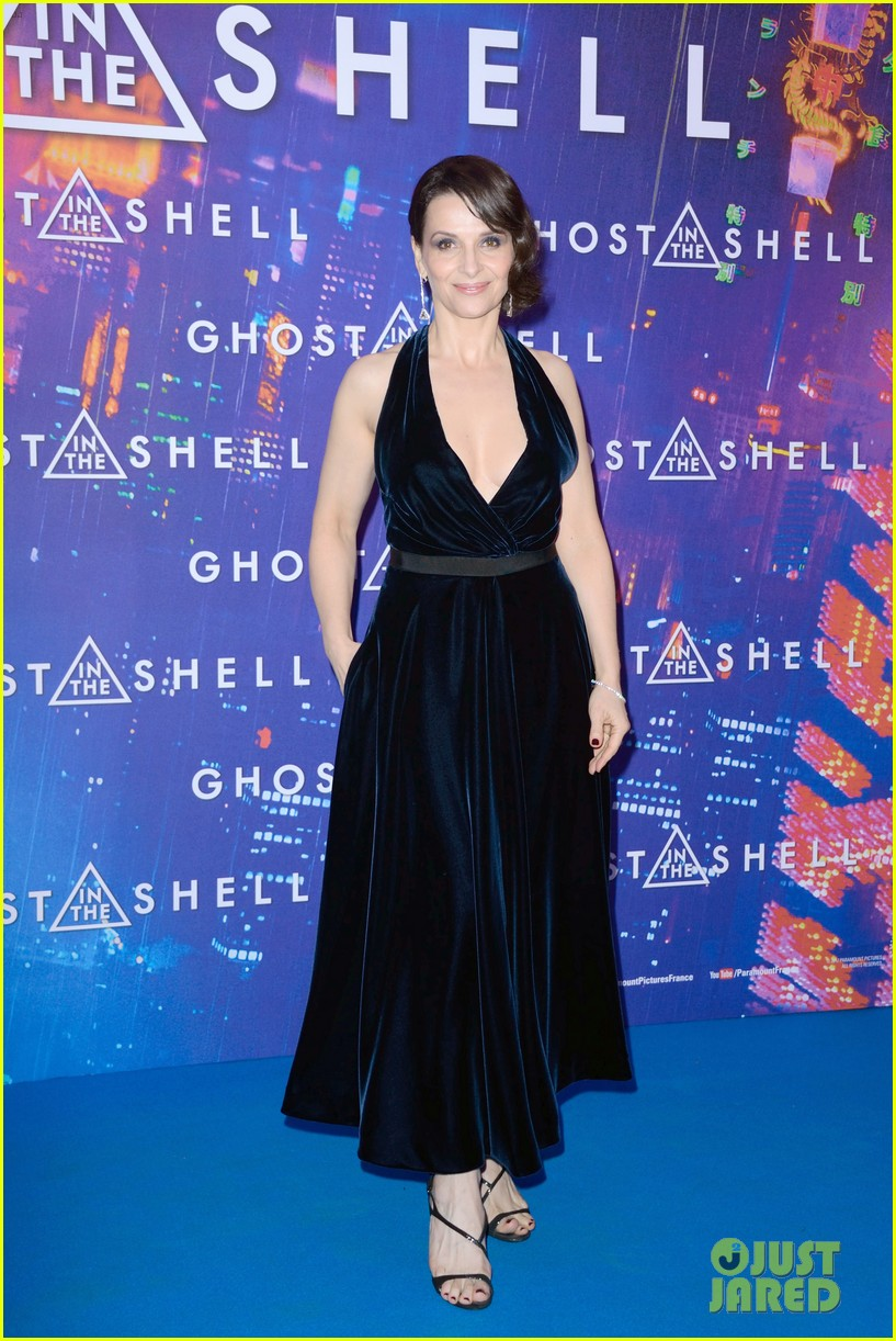 scarlett johansson ghost in the shell paris premiere 033877098
