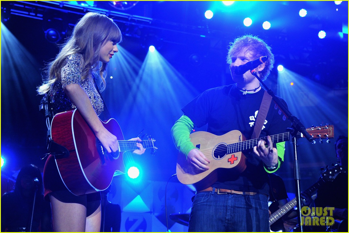 ed sheeran and taylor swift - photo #11