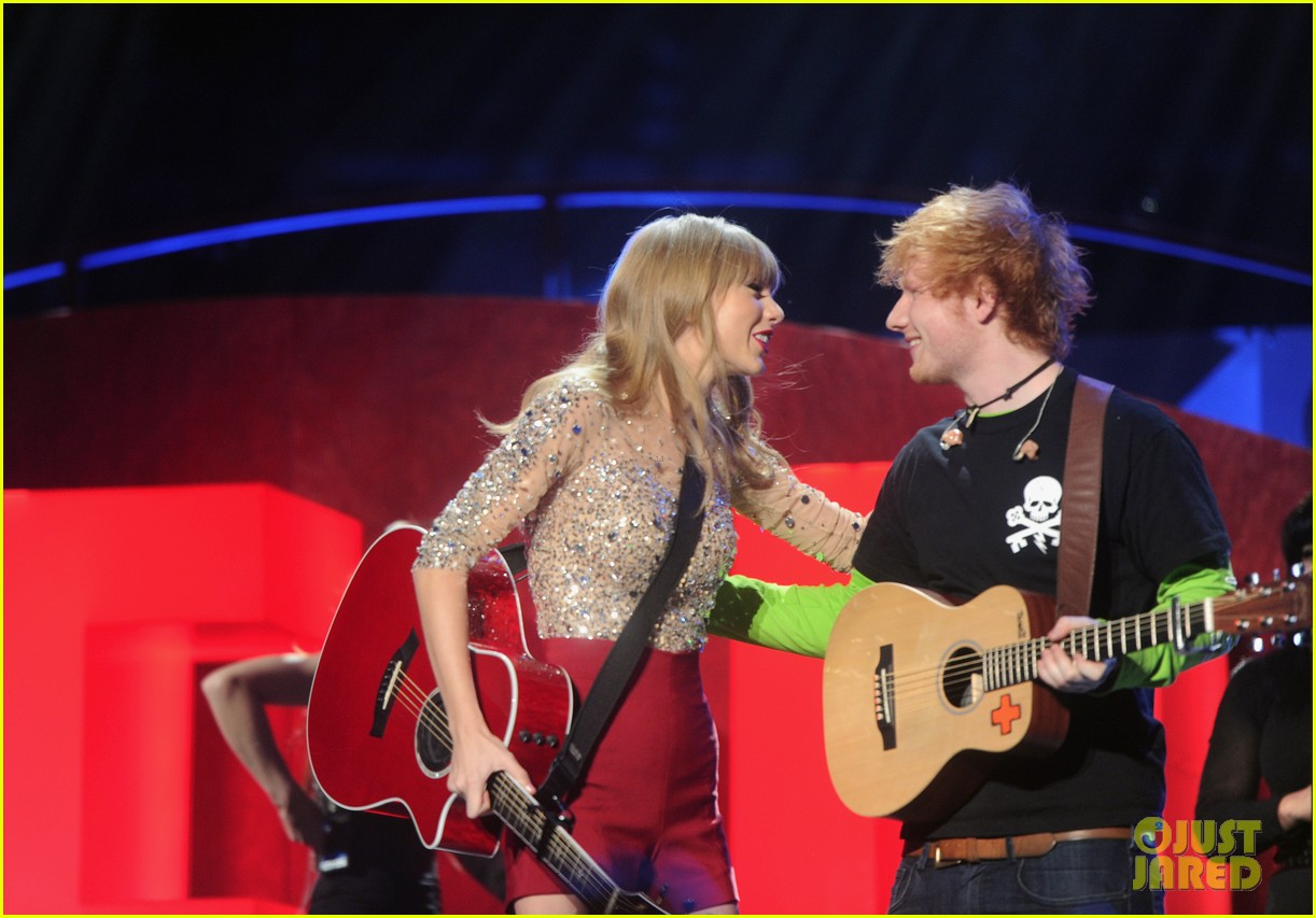 ed sheeran and taylor swift - photo #23