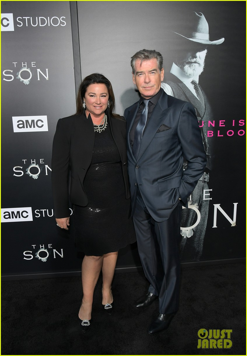 jessica chastain and pierce brosnan premiere the son in hollywood 10