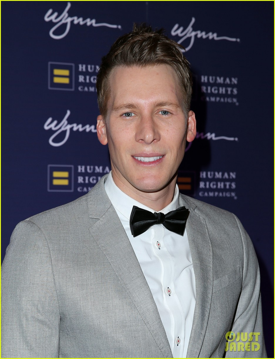dustin lance black adds model to his resume 083882590