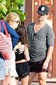 billie lourd taylor lautner couple up st barts 02