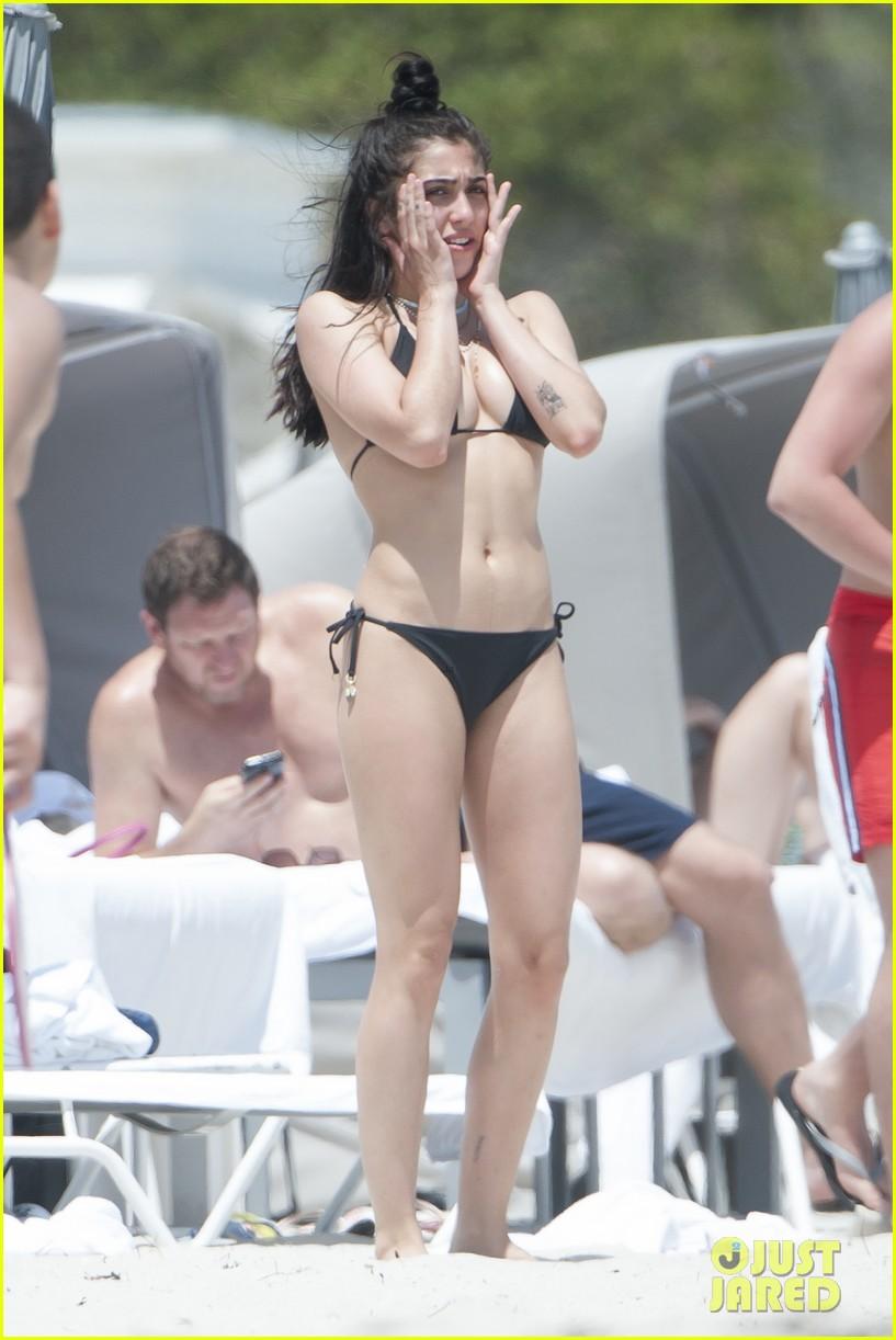 lourdes leon bikini miami beach 06