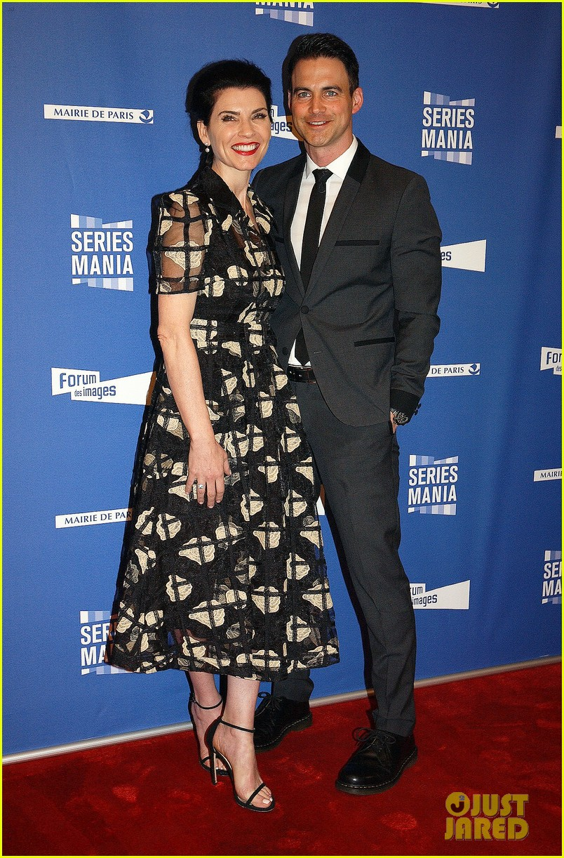 julianna margulies and husband keith lieberthal couple up for series mania festival in paris 113889022