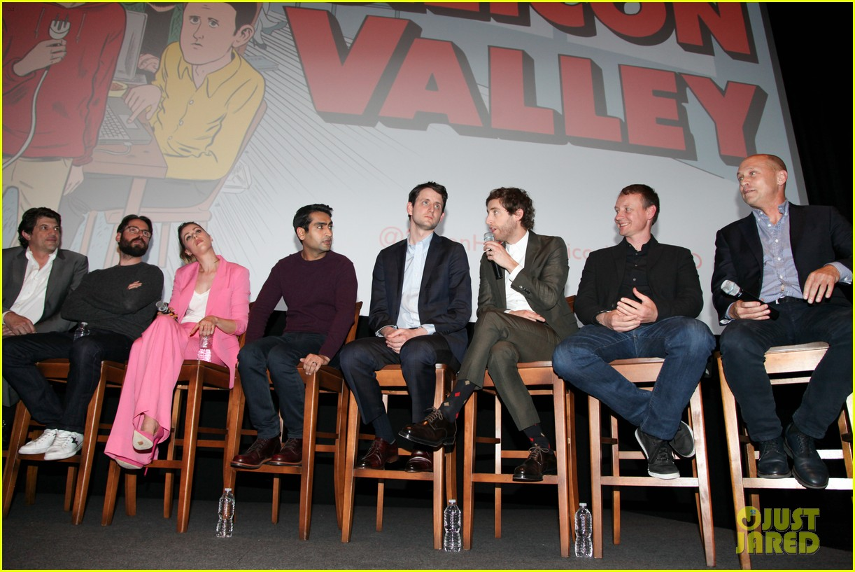 silicon valley cast is divided between snapchat instagram 023885020