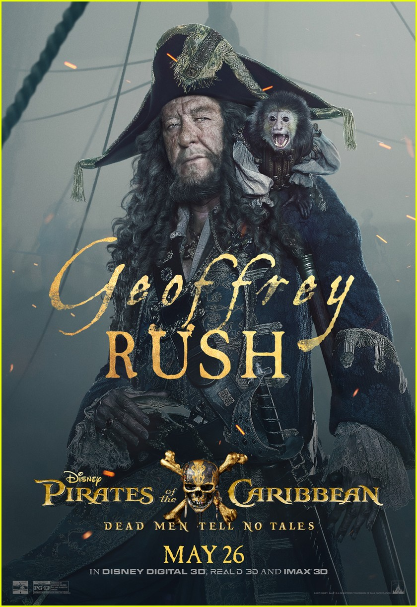 pirates caribbean character posters 013883322