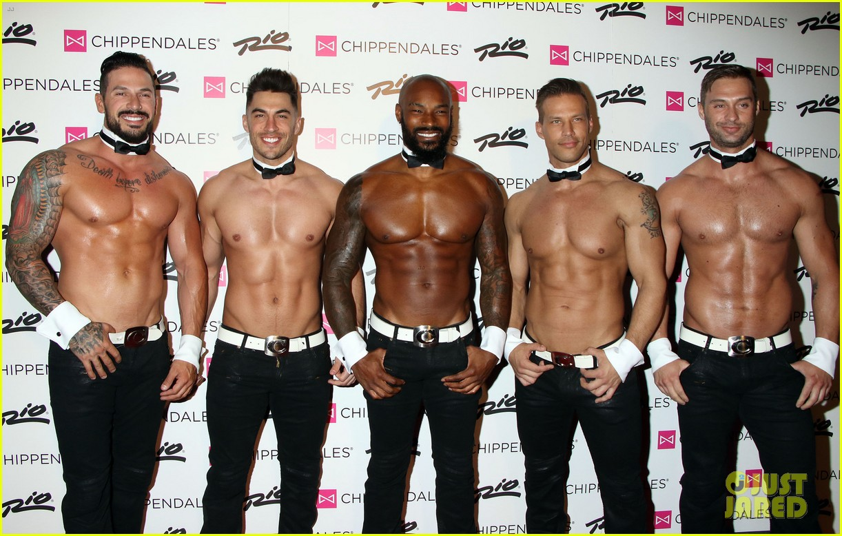 Tyson Beckford Looks So Hot at Shirtless Chippendales ...