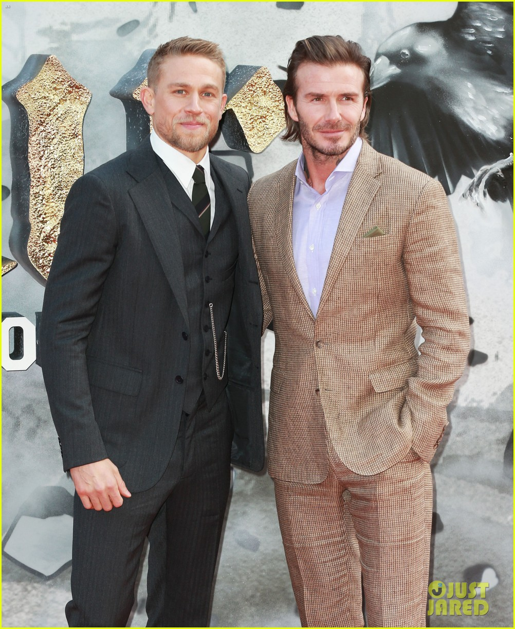 David Beckham Is Joined By Brooklyn At The Premiere Of