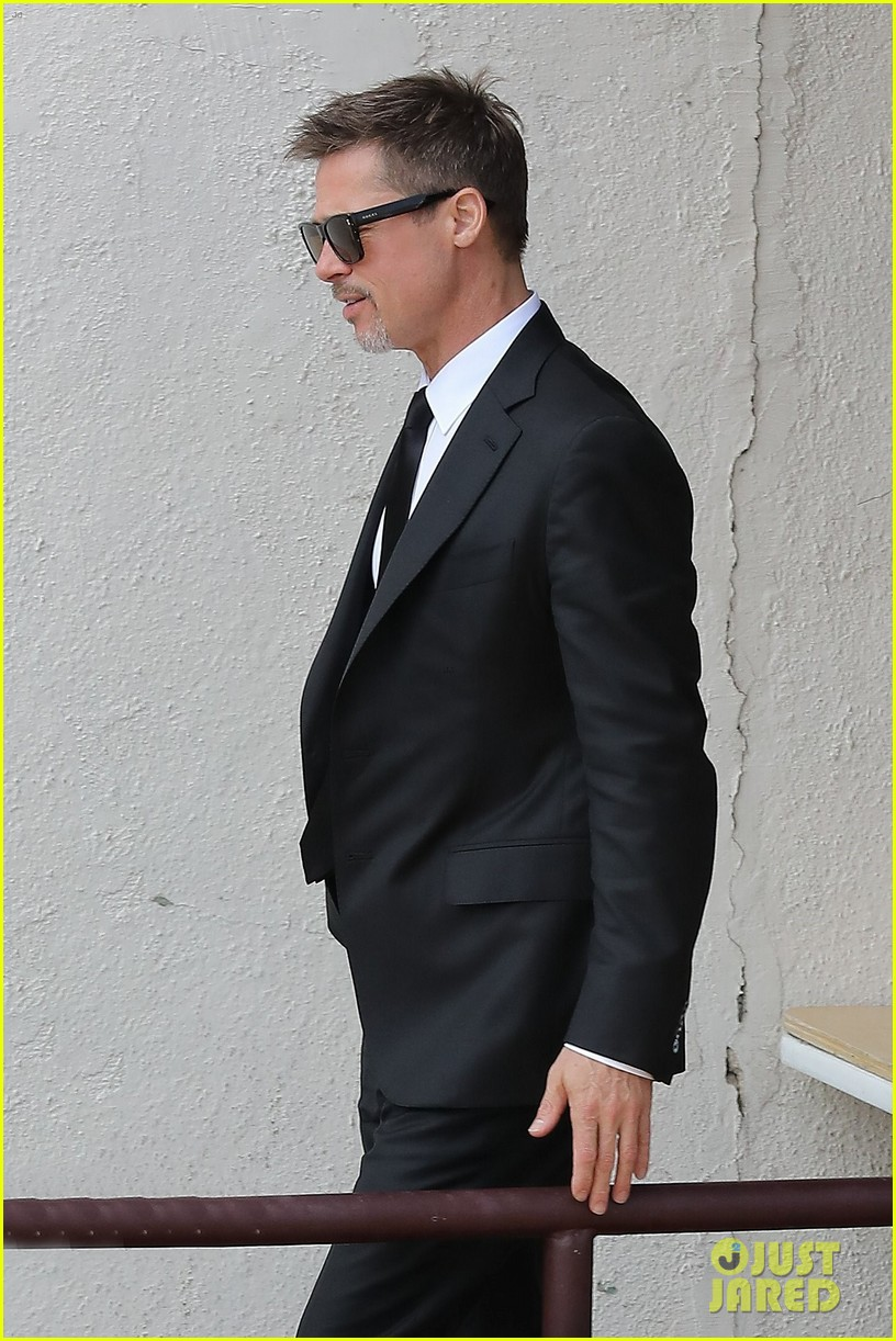 brad pitt luncheon at criags los angeles 023906242