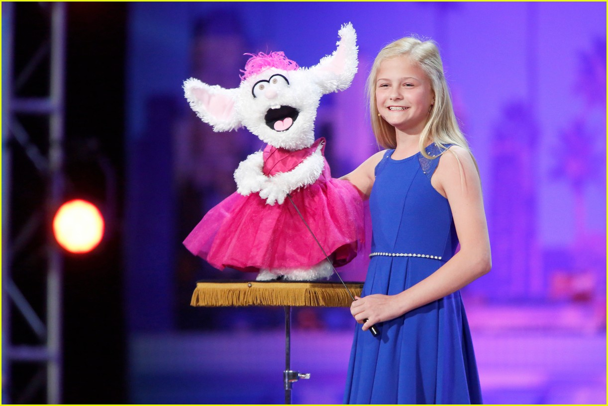 Americas got talent 2017 old ladies - 12 Year Old Girl S Singing Ventriloquist Audition On America S Got Talent Is Truly Unforgettable Video