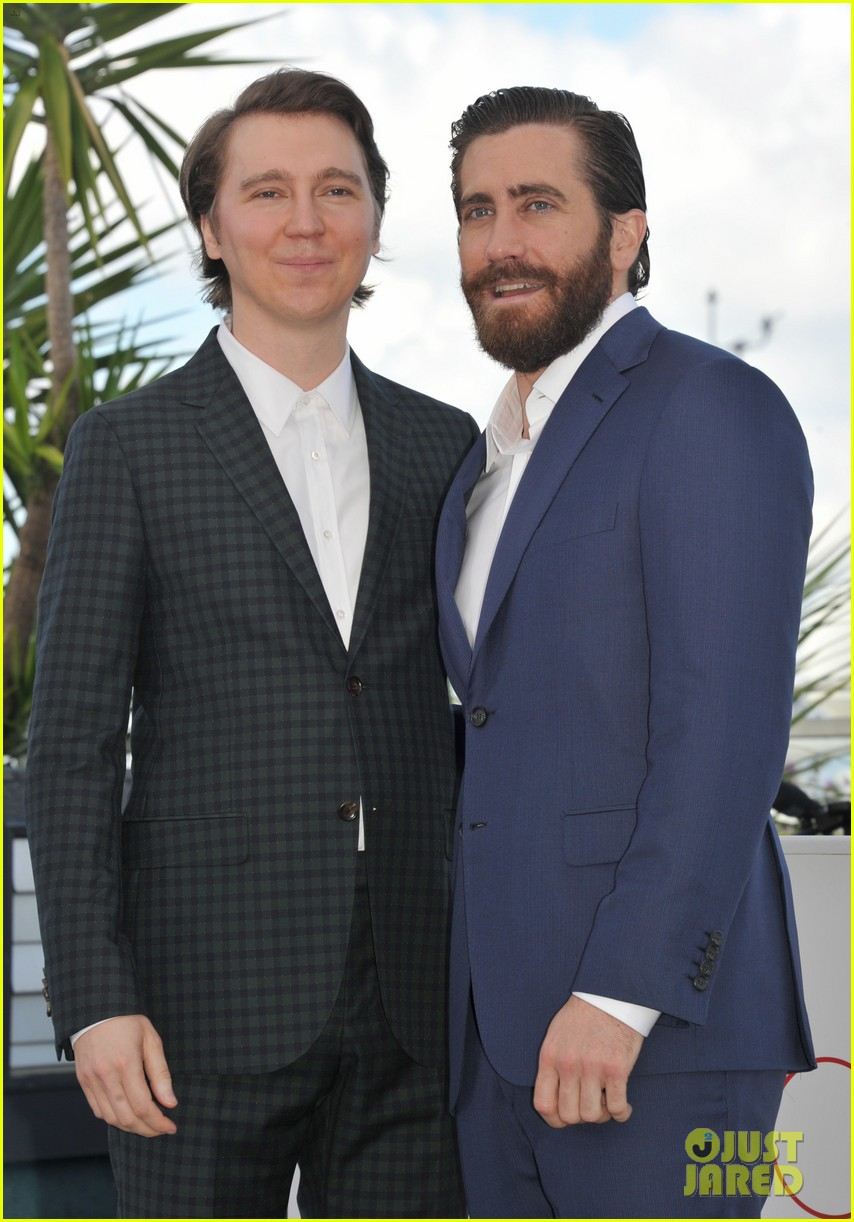 jake gyllenhaal tilda swinton lily collins debut okja at cannes film fest 143901368