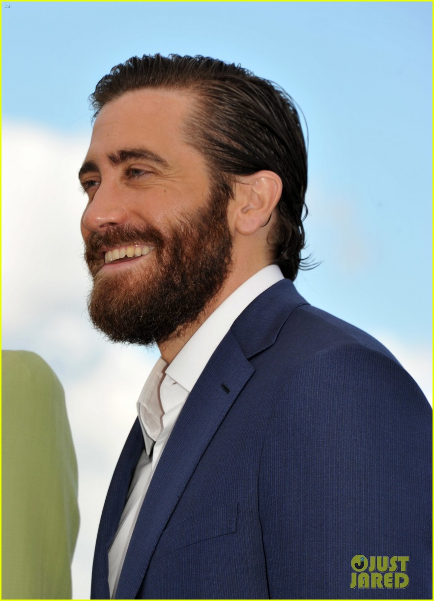 jake gyllenhaal tilda swinton lily collins debut okja at cannes film fest 223901376
