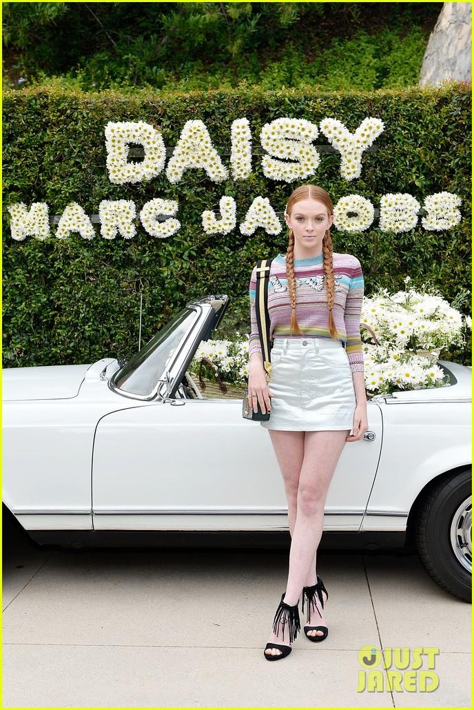 kaia geber marc jacobs daisy fragrance launch 163897325