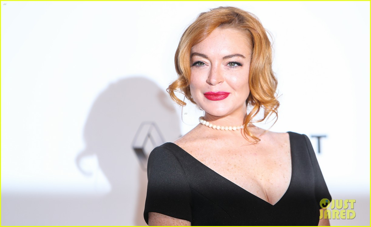 Lindsay Lohan & Paris Hilton Glam Up for amfAR Cannes Gala ... Lindsay Lohan 2017
