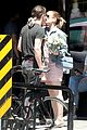 kate mara and jamie bell share a smooch on a sunny day in venice 01