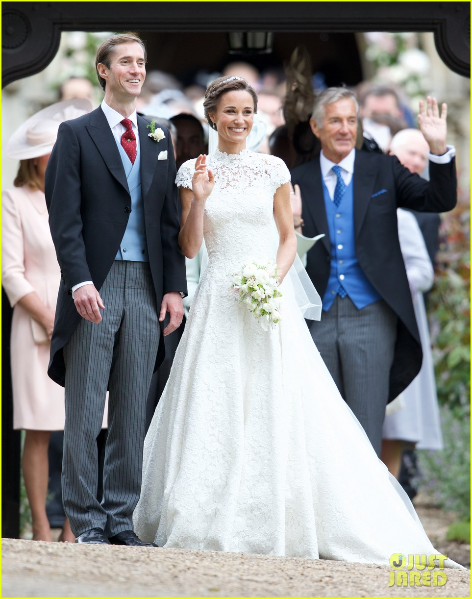 pippa middleton is married see her wedding photos here