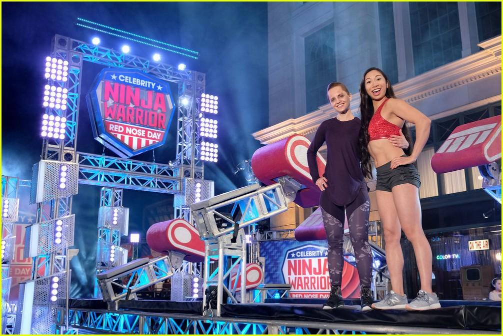 celebrity ninja warrior red nose day 09 - Celebrity Ninja Warrior