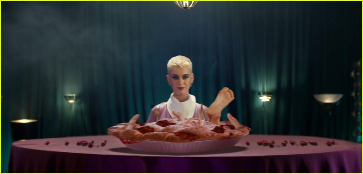 Katy Perry Turns Into ... Katy Perry Bon Appetit