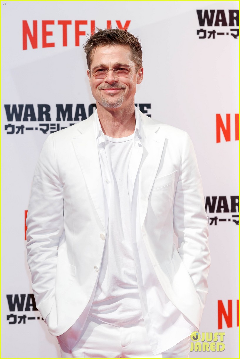 brad pitt says war machine wouldnt have been made without netflix 043904001