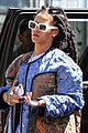 rihanna re shoots oceans eight set 06