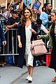 jessica alba rocks four looks in one day during planet of the apps promos 07