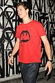 ansel elgort craigs west hollywood 04