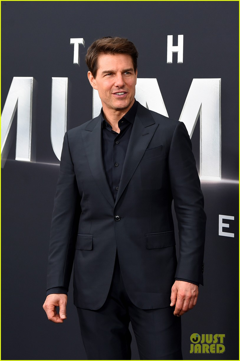 tom cruise the mummy cast nyc premiere 053910144