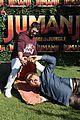 jack black nick jonas face off during jumanji promo 02