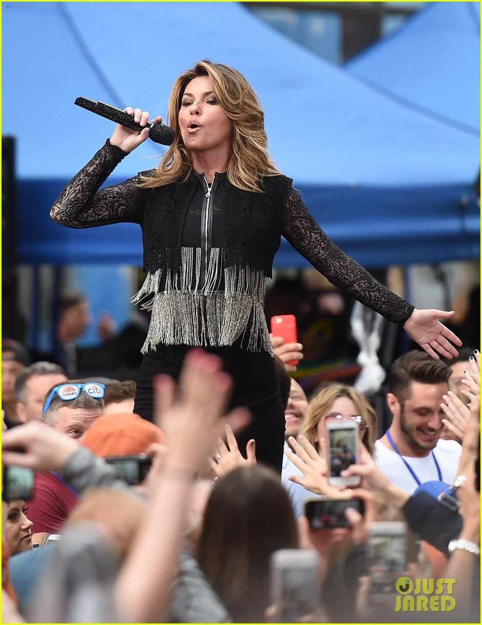 shania twain performs today show 023915366