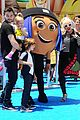 christina aguileras kids wear their emojis to emoji movie premiere 01